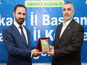 HÜDA PAR Ankara İl Başkanlığına Ahmet Karaarslan seçildi