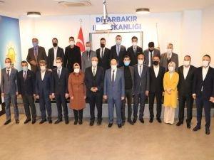 Diyarbakır'da AK Parti yeni ilçe başkanları tanıtıldı