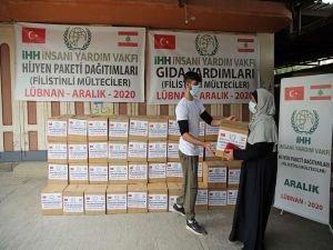 Türkiye'den Filistinli mültecilere yardım