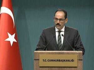 "Cumhurbaşkanlığı Sözcüsü Kalın: ""Mülteci Krizi Çözülmüş Değil"""