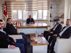 HÜDA PAR Diyarbakır İl Başkanı Dinç'ten Güneydoğu Güncel Gazetesine ziyaret