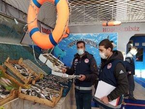 Van genelinde perakende ve balık tezgahlarında denetimler yapıldı