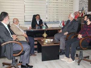 HÜDA PAR Adana İl Başkanlığından ASİM'e iade-i ziyaret