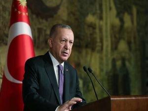 """Cumhurbaşkanı Erdoğan: """"Erbakan Hocamızı rahmetle hürmetle yâd ediyorum"""""""
