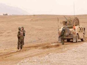 Afganistan'da Taliban saldırısında 8 Afgan askeri hayatını kaybetti