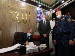 Bakan Akar Türkiye ve Irak arasındaki iş birliğinin önemine dikkat çekti