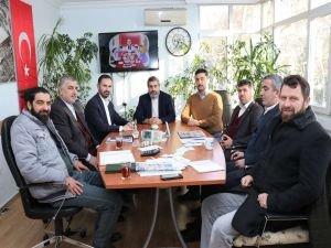 HÜDA PAR Ankara İl Başkanı Karaarslan'dan İHH'ya ziyaret