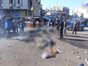 Bağdat'taki patlamada ölü ve yaralılar var