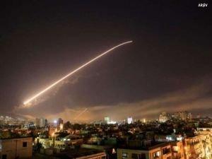 Siyonist işgal rejimi Suriye topraklarına hava saldırısı düzenledi