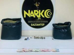 Gaziantep'te 31 kilogram uyuşturucu ele geçirildi