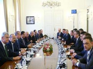Cumhurbaşkanı Erdoğan, Hırvatistan Başbakanı ile görüştü