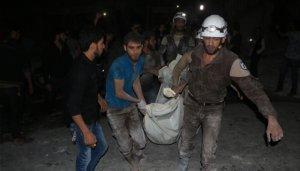 Rus savaş jet'i Halep'te hastane vurdu