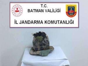 Batman'da 6 kilogram kubar esrar ele geçirildi