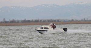 Göl denetim ekibine silahlı saldırı!
