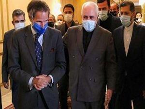 UAEA Başkanı Grossi İran Dışişleri Bakanı Zarif ile görüştü