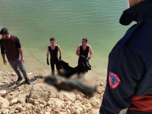 Hasankeyf baraj suyunda bir erkek cesedi bulundu