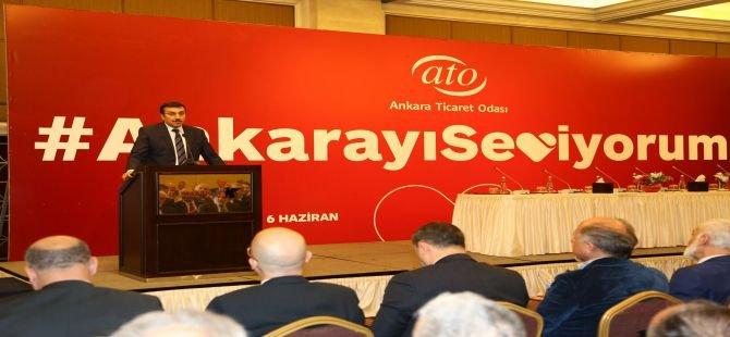 """ATO'nun  """"Ankara'yı Seviyorum"""" Kampanyası start aldı"""