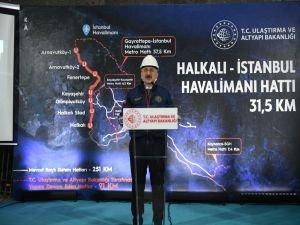 İstanbul'a İki raylı Sistem Hattı Daha Kazandırıyoruz