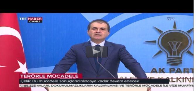 """""""Terörle mücadele demokrasimizi, sokaktaki vatandaşımızı koruyor"""""""