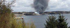 Norveç Havacılık dairesi düşen helikopterde kurtulan olmadı.