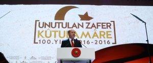 Erdoğan: Kut'ül Amare Zaferi'nin 100. Yılı töreninde konuştu