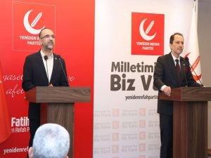 """Sağlam'dan Erbakan'a """"yeni anayasa"""" ziyareti"""