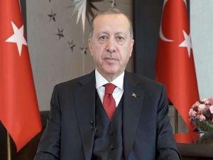 Cumhurbaşkanı Erdoğan'dan düşen uçağın pilotu için taziye mesajı