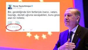 Cumhurbaşkanı Erdoğan'ın '19.16' sırrı