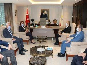 HÜDA PAR Genel Başkanı Sağlam'dan İYİ Parti Genel Başkanı Akşener'e ziyaret