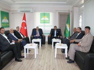 Gelecek Partisi Genel Başkan Yardımcısı HÜDA PAR'ı ziyaret etti