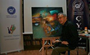 Sanatçı Sait Günel'in Akrilik Seminer&Workshop'u Gerçekleştirildi