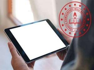 """Milli Eğitim Bakanlığından """"tablet"""" uyarısı"""