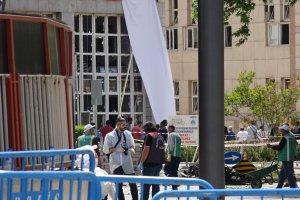 Gaziantep'te kullanılan bombalı aracın enkazı kaldırıldı