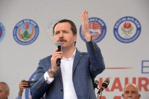 Memur-Sen Kahramanmaraş'ta 1 Mayıs'ı kutladı