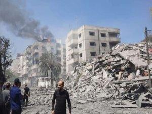 """Siyonist rejiminin tahribatını ortadan kaldırmak için """"Gazze'yi İmar Edeceğiz"""" kampanyası başlatıldı"""