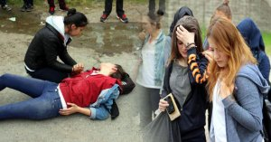 Kaza sonrası Liselilerin zor anları