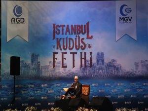 Kudüs'ün yeniden fethedileceği inancı İstanbul'dan tüm Dünyaya haykırıldı