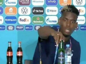 """Paul Pogba'dan """"bira şişesi"""" tepkisi"""