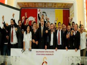 Galatasaray'ın 38'inci Başkanı Burak Elmas