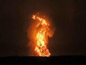 Hazar Denizi'nde patlama meydana geldi