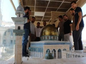 Minia Kudüs tırı Mardin'e ulaştı