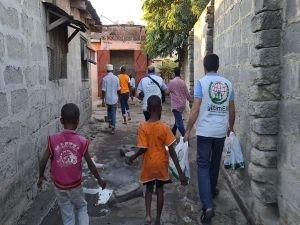 Avrupa Yetim Eli ve IHO- EBRAR'dan Tanzanya'daki yetimhaneye kurban bağışı