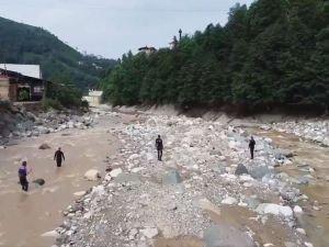 Rize'deki 12 gün önce sel ve heyelanda kaybolan 2 kişi hâlâ aranıyor