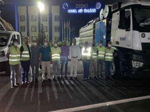 Selin vurduğu Artvin'e Diyarbakır'dan destek