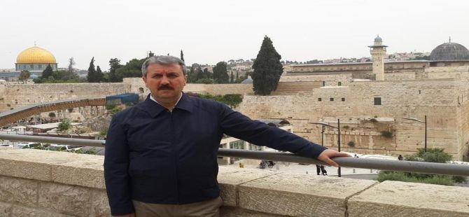 BBP Genel Başkanı  Destici, İsrail'de gözaltına alındı