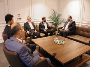 HÜDA PAR İstanbul İl Başkanı Güvendik'ten Saadet Parti İl Başkanına ziyaret