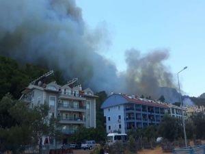 """Marmaris'teki orman yangınında """"sabotaj"""" ihtimali"""