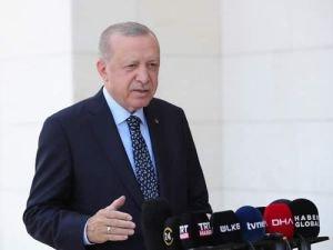 """Cumhurbaşkanı Erdoğan: """"Orman yangınlarından etkilenen hiçbir vatandaşımızı mağdur etmeyeceğiz"""""""
