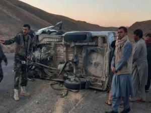 Afganistan'da trafik kazalarında 20 kişi hayatını kaybetti
