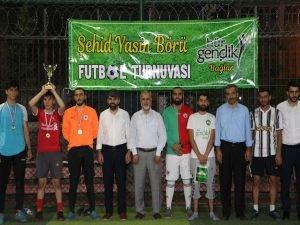 Yasin Börü Futbol Turnuvasında final maçı oynandı